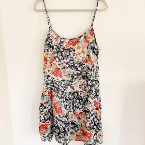 Volcom Floral Strap Dress Large